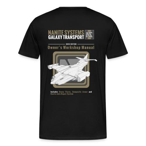 Galaxy Owner's Manual - Men's Premium T-Shirt