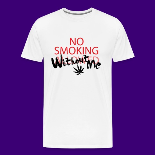 No Smoking - Men's Premium T-Shirt