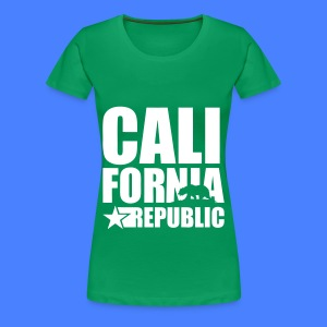 California Republic Women's T-Shirts - Women's Premium T-Shirt