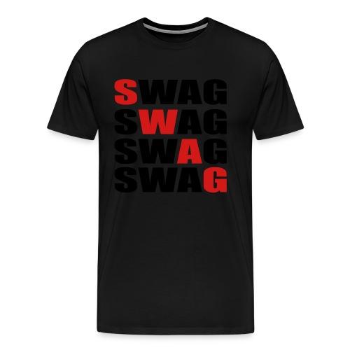 Swag by Swag T-Shirt - Men's Premium T-Shirt