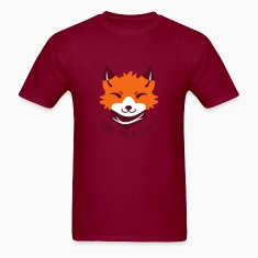 Chibi FOX with Types T-Shirts