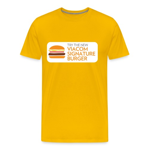 Viacom Signature Burger - Men's Premium T-Shirt