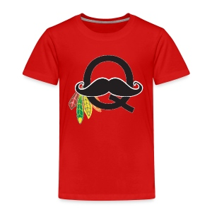 Q-Stache - Toddler Premium T-Shirt