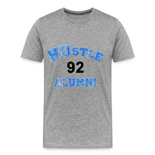 HUstle Alumni 92 - Men's Premium T-Shirt