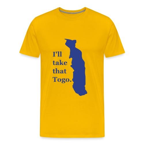 Togo - Men's Premium T-Shirt
