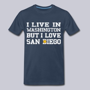 Live Washington Love San DIego - Men's Premium T-Shirt