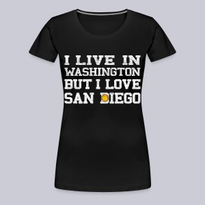 Live Washington Love San DIego - Women's Premium T-Shirt