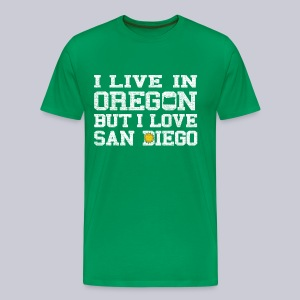 Live Oregon Love San Diego - Men's Premium T-Shirt