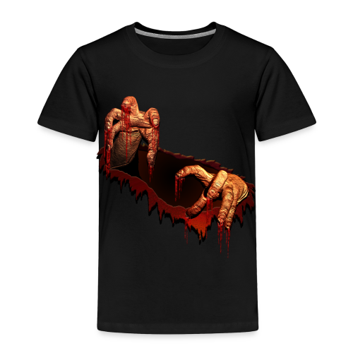 Zombie T-shirt Gory Halloween Costume Zombie Baby T-Shirt - Toddler Premium T-Shirt