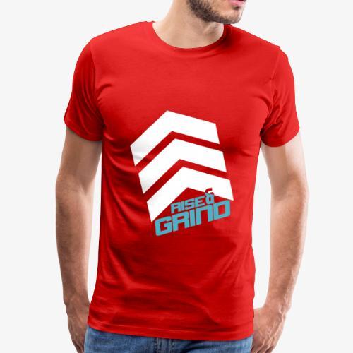 RISE & GRIND TEE - Men's Premium T-Shirt