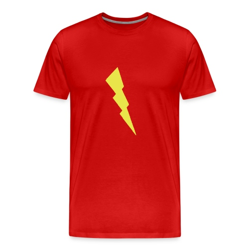 lightning blot - Men's Premium T-Shirt