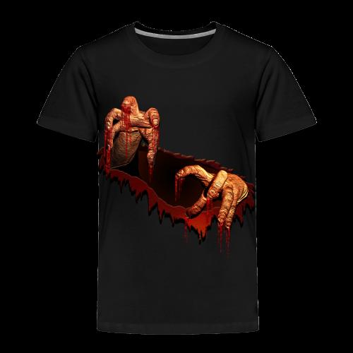 Baby Zombie T-shirt Halloween Costume Zombie Baby T-Shirt - Toddler Premium T-Shirt