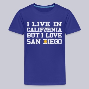 Live California Love San Diego - Kids' Premium T-Shirt