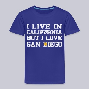 Live California Love San Diego - Toddler Premium T-Shirt