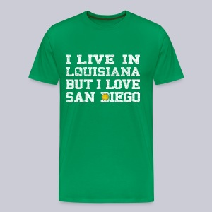Live Louisiana Love San Diego - Men's Premium T-Shirt