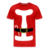 T-Shirts ~ Men's Premium T-Shirt ~ SANTA CLAUS SUIT - Men's 3XL/4XL Shirt