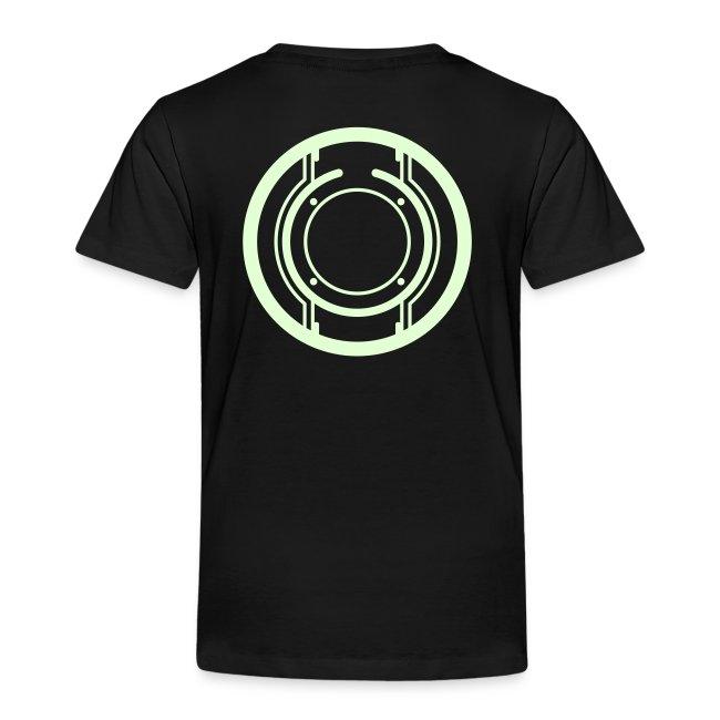 Sam Flynn toddler shirt (glow)