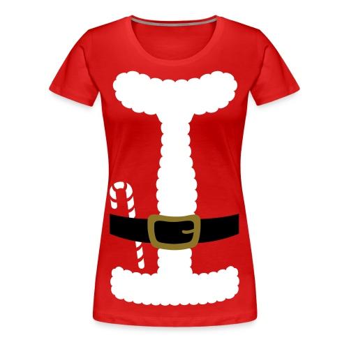 SANTA CLAUS SUIT - Women's Plus Size - Women's Premium T-Shirt