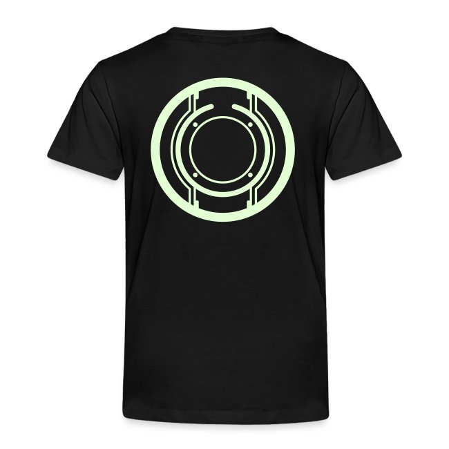 QUORRA toddler shirt (glow)