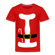 Baby & Toddler Shirts ~ Toddler Premium T-Shirt ~ I LOVE SANTA CLAUS - Toddler T-Shirt