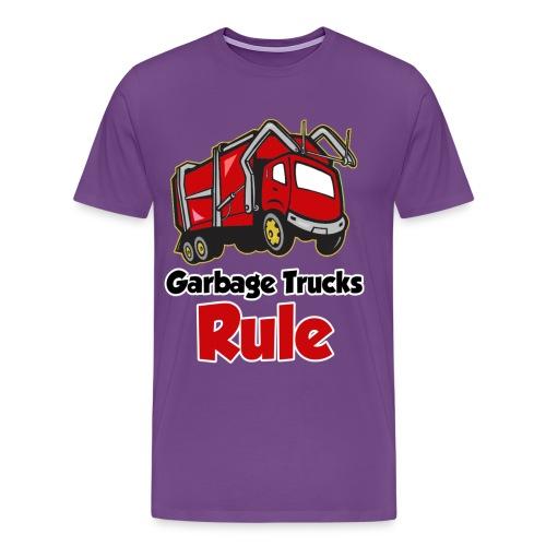 Garbage Trucks Rule - Men's Premium T-Shirt