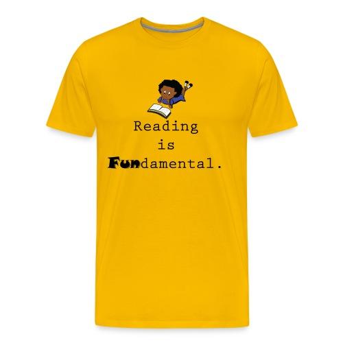 Reading is Fundamental Men - Men's Premium T-Shirt