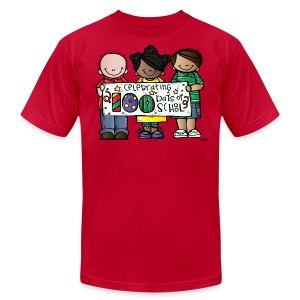 100th Day of School - Men's T-Shirt by American Apparel