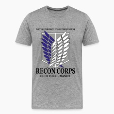 Recon Corps- Attack on Titan T-Shirts