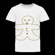 Baby & Toddler Shirts ~ Toddler Premium T-Shirt ~ Gingerbread Man
