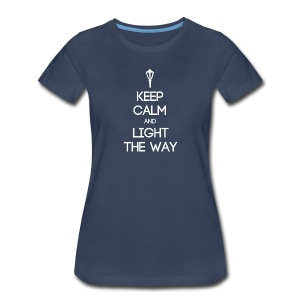 INFP ~ Keep Calm and Light the Way Women's T-shirt - Women's Premium T-Shirt