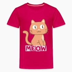 cute kitty cat Kids' Shirts