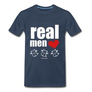 Men's Premium T-Shirt - whiskers,whisker,shelter,meow,love meow,love,kittens,kitten,feline,crazy cat lady,cats,cat lady,cat