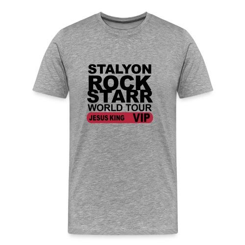 STALYON ROCK STARR JESUS VIP - Men's Premium T-Shirt
