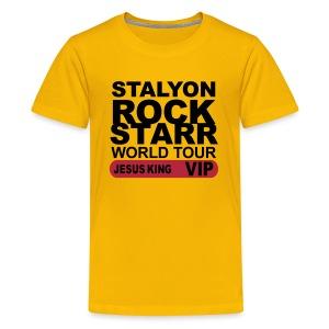 STALYON ROCK STARR JESUS VIP - Kids' Premium T-Shirt