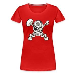 Birth - Drums - Death - Girlz - Women's Premium T-Shirt