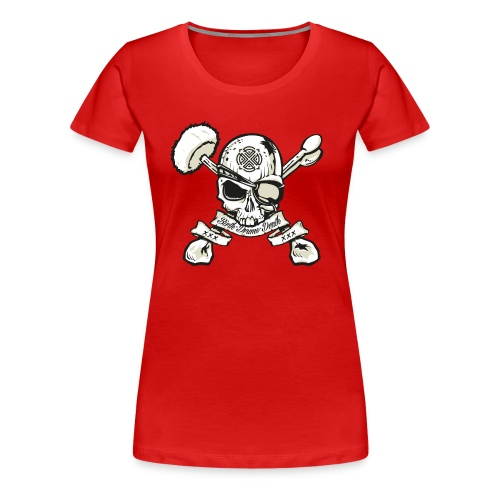Birth - Drums - Death - Girlz - Women's Premium T-Shirt