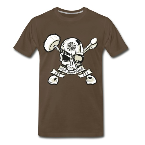 Birth - Drums - Death - Guyz - Men's Premium T-Shirt