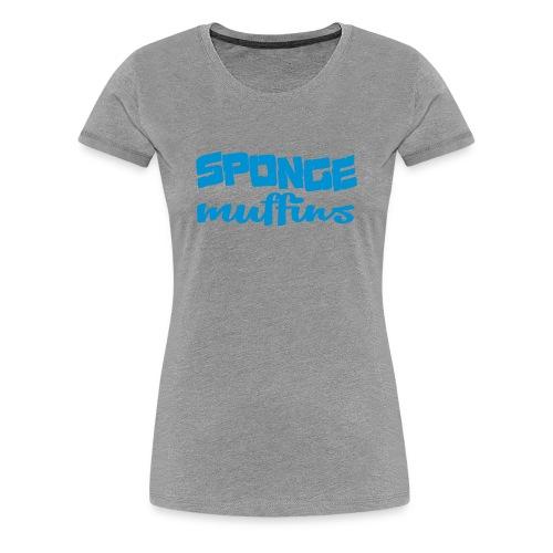 Sponge Muffins - Women's Premium T-Shirt