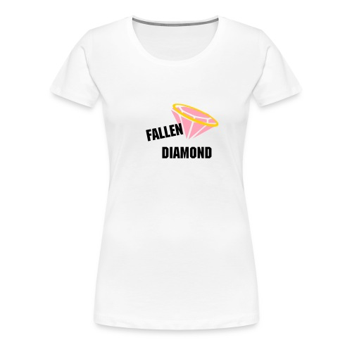 Fallen Diamond Apparel T-Shirt - Women's Premium T-Shirt
