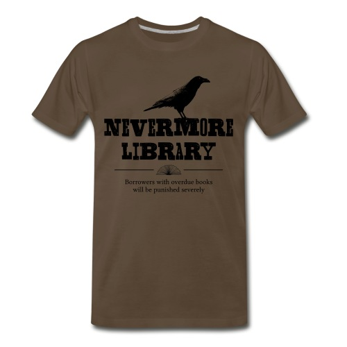 Nevermore Library - Men's Premium T-Shirt