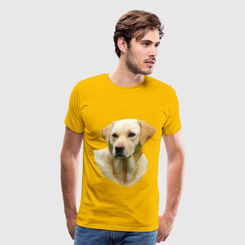 Yellow Lab T-shirt Worn in Hangover 2 - Men's Premium T-Shirt