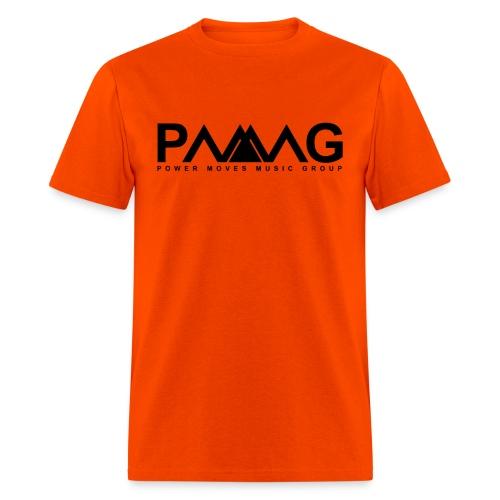 PMMG Official Logo - Orange/White T-Shirt - Men's T-Shirt