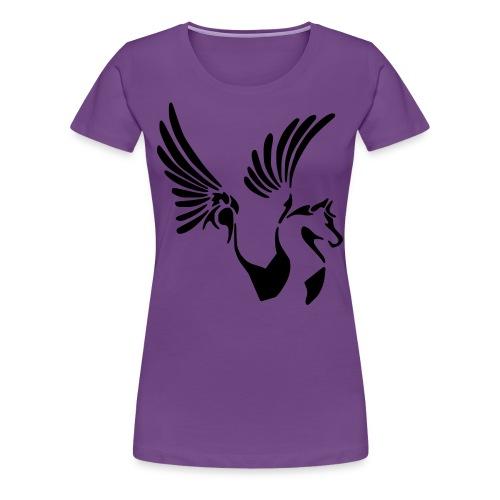 Women's Plus- Tribal Pegasus - Women's Premium T-Shirt