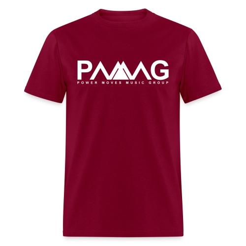 PMMG Official Logo - Navy/White T-Shirt - Men's T-Shirt