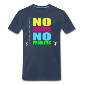 Men's Premium T-Shirt - youtube,no sleeves,merchandise,maxnosleeves,max no sleeves merchandise,max