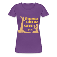T-Shirts ~ Women's Premium T-Shirt ~ Save You