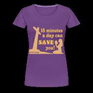Women's T-Shirts ~ Women's Premium T-Shirt ~ Save You