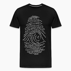 Darwin's Fingerprint by Tai's Tees