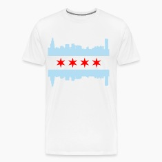 Chicago Flag Skyline