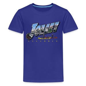 Joliet Illinois Throwback - Kids' Premium T-Shirt